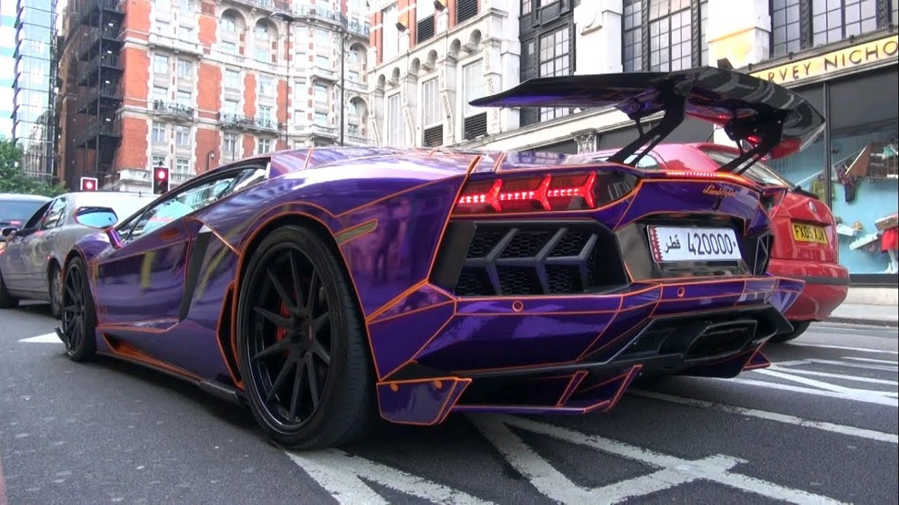 tron lamborghini aventador decatted crusing in london and loud sounds youtube. Black Bedroom Furniture Sets. Home Design Ideas