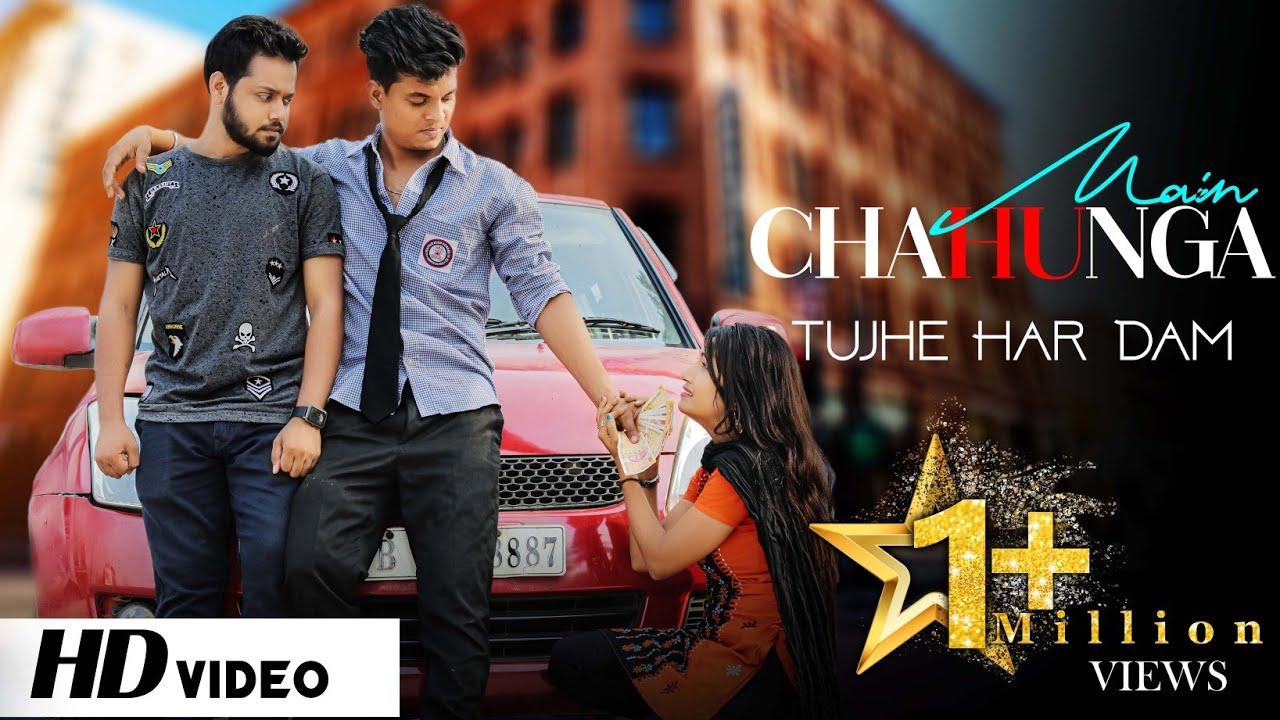 Chahunga Main Tujhe Hardam | Romantic Love story | Satyajeet Jena | Love Race |New Hindi Song |2021