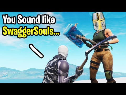 I met SwaggerSouls in a Random Duos on Fortnite...
