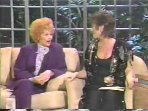 Lucille Ball on Joan Rivers Part 3 with Michele Lee