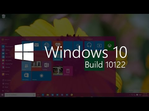 how to activate windows 10 build 10122 and remove that