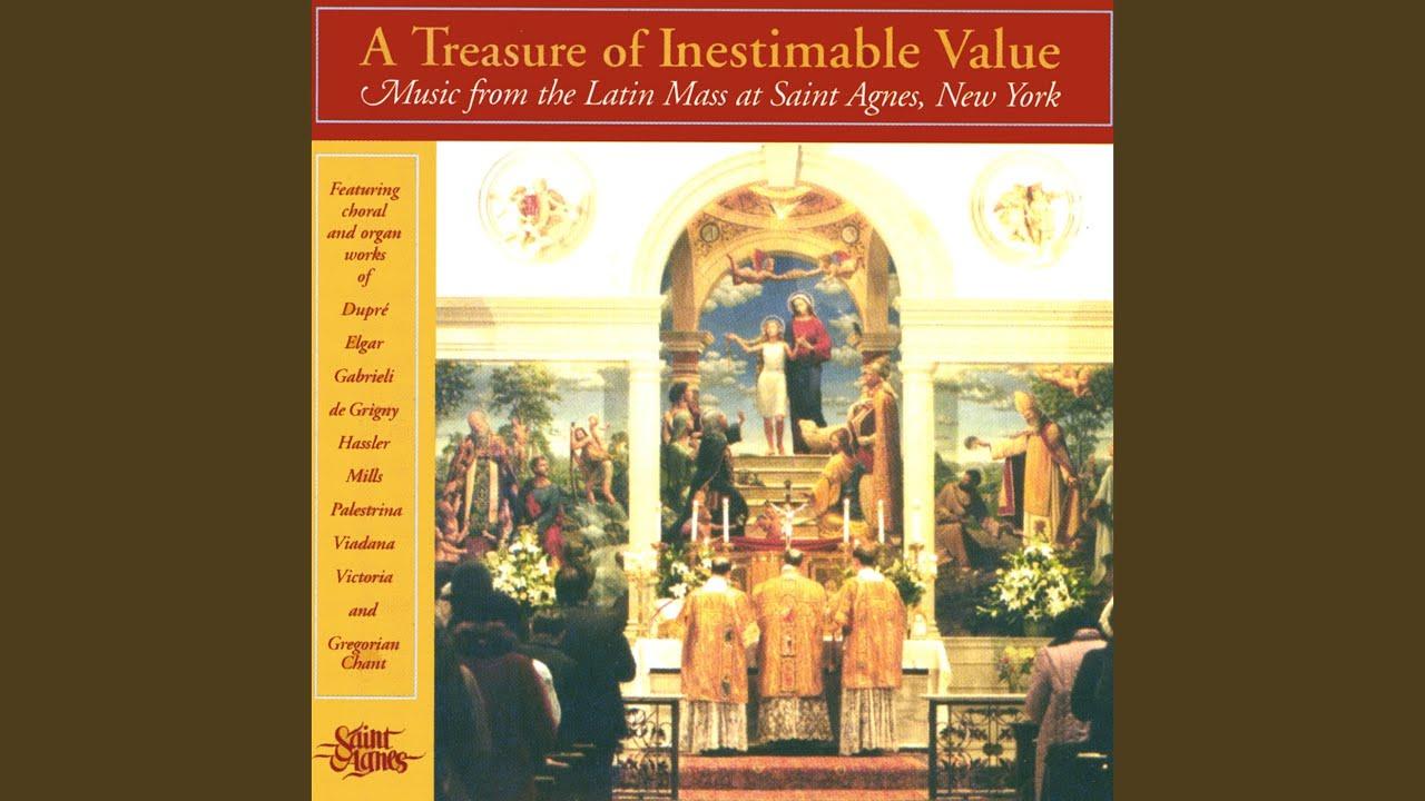 Agnus Deis-Mass XVII-Gregorian Chant