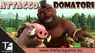 FARM Distrutta con Domatori LV.5 -Clash of Clans-