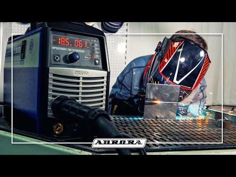 Сварка без брызг. Полуавтоматы SPEEDWAY Synergic от AURORA