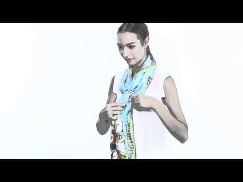 Play with Zoë Scarf #2 (วิธีผูกและพันผ้าพันคอโซอี้ #2)