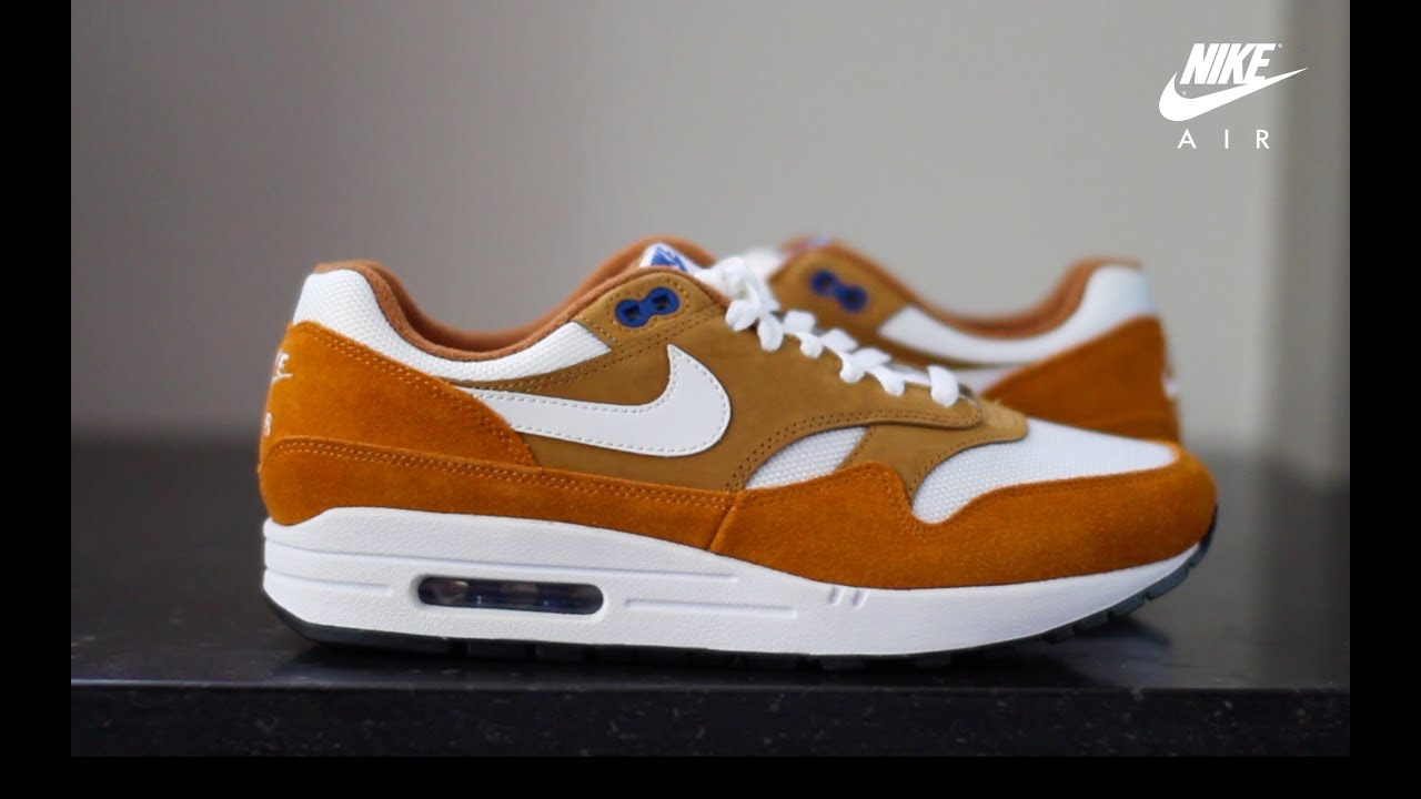 Unboxing and On Foot Review: Nike Air Max 1 'Atmos' Curry