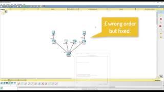 - OSPF Basic configuration - Packet tracer (Cisco)