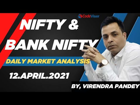 NIFTY PREDICTION  U0026 BANKNIFTY ANALYSIS FOR 12 APRIL  - NIFTY TARGET I CODEVISER