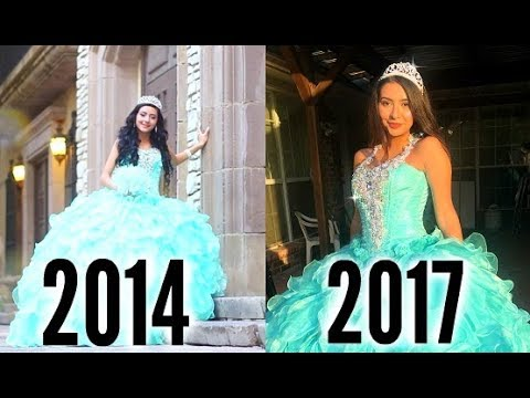 trying-on-my-quince-dress-3-years-later...