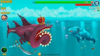 Hungry Shark Evolution Ice Shark Android Gameplay #33