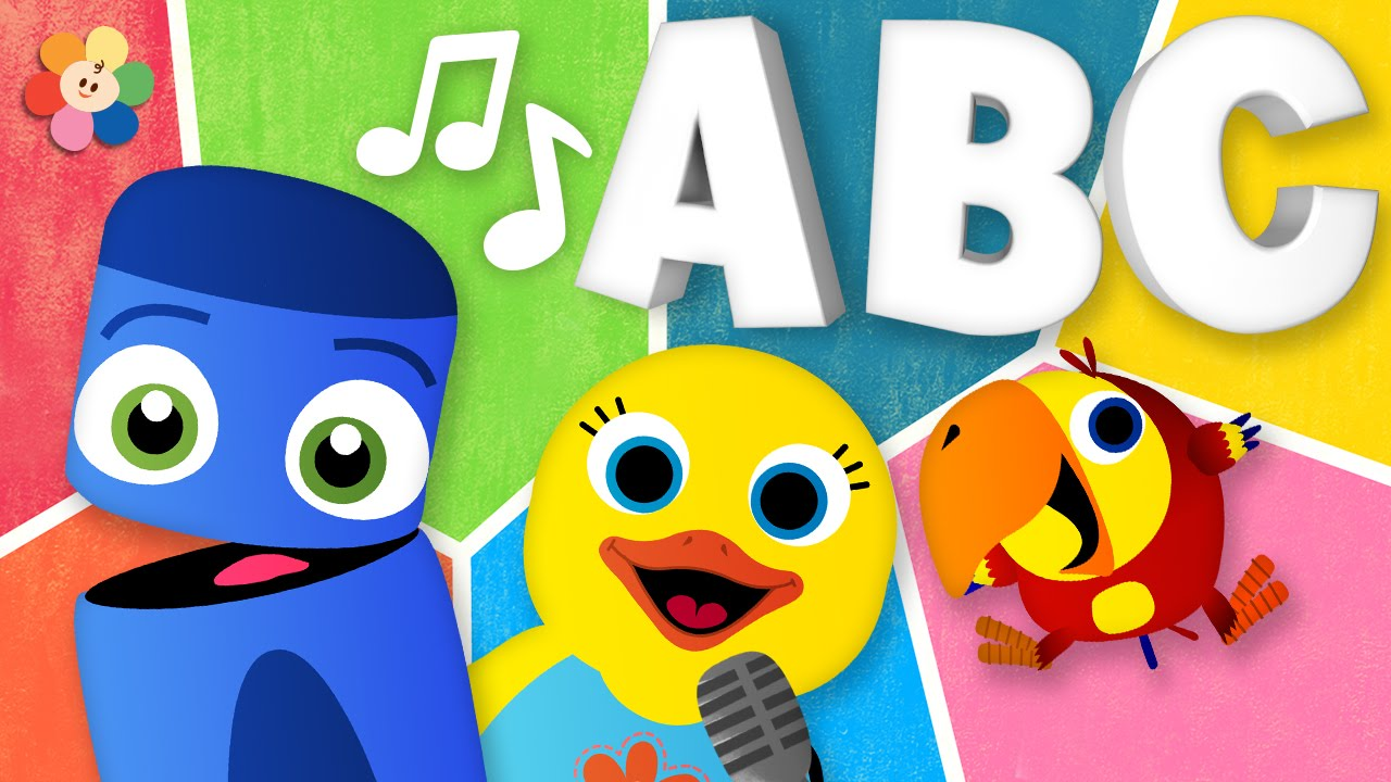 ABC song | Learn the ABCs with Color Crew and Friends ...