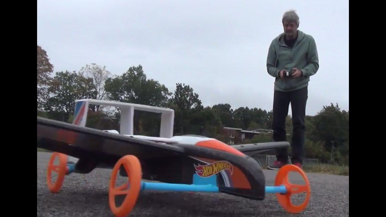 hot wheels rc street hawk remote control flying car. Black Bedroom Furniture Sets. Home Design Ideas