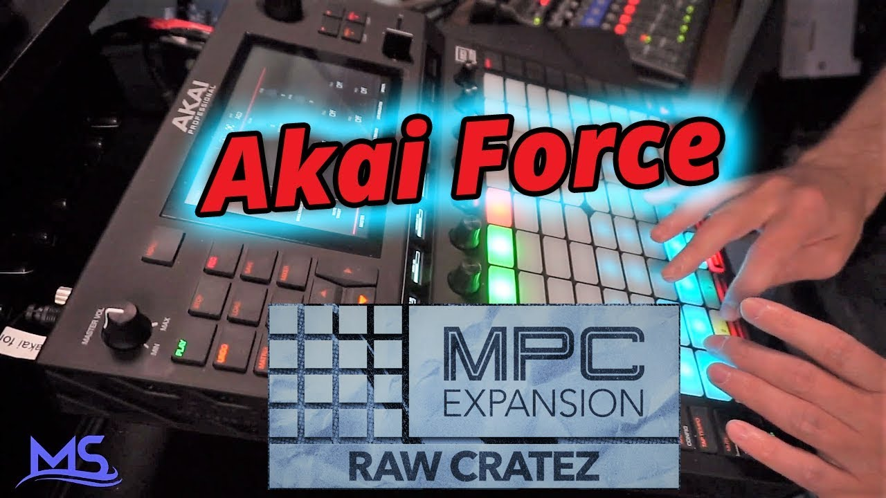 Akai Force Beat - MPC Expansions - Raw Cratez