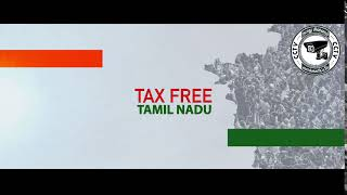 TAX FREE TAMIL NADU WITH MY INDIA PARTY