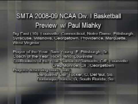 So Much to Talk About: 2008-09 NCAA Basketball Preview-Pt. 4 of 9