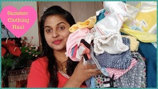 Baby's Summer Clothing Haul 2018 || How To Take Care Of Babies In Summer || Some Useful Tips