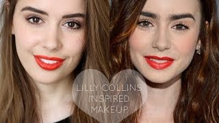 Lily Collins Inspired Makeup | Hello October