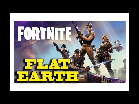 Flat Earth    Truth in the Video Game FORTNITE thumbnail