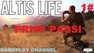 Arma 3 Altis Life - #1 -  Primi Passi - Parte 1 - [HD - ITA]
