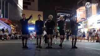 블랙핑크 - '불장난(PLAYING WITH FIRE)' cover Busking in Sinchon
