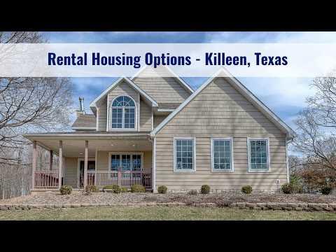 Rental Housing Options - Killeen, Texas