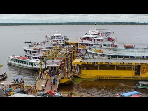 Amazon River Cruise: Tour of Manaus Harbor, Brazil