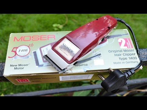 Moser Hair Clipper 1400
