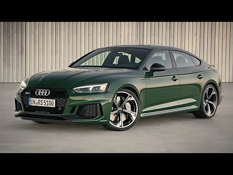 audi rs5 sportback 2019 sports sedan youtube. Black Bedroom Furniture Sets. Home Design Ideas