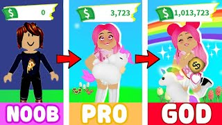How I Became A MILLIONAIRE In Adopt Me Overnight... Roblox Adopt Me Get Rich Quick Hacks