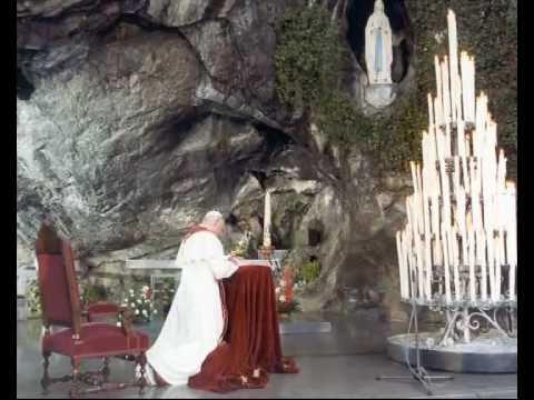 Résultats de recherche d'images pour «Jean-Paul II à Lourdes 1983»