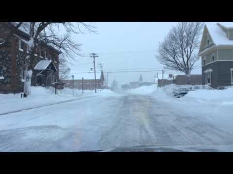 A winter ride thru Calumet MI