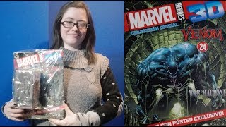 Unboxing Venom from Marvel Heroes 3D Official Collection from Salvat ft CosasParaTener