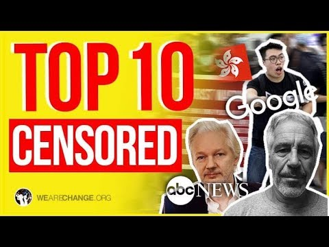 TOP 10 Most Censored Stories of 2019
