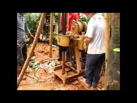 Operation Video manual 02 for hydraulic water well drilling rig AKL-100L, 150L and 200L
