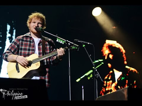 Ed Sheeran Live in Manila 2015 - FULL SET (100% BEST CROWD E