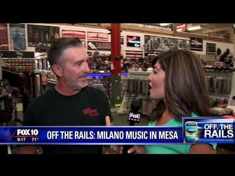 FOX 10 OFF THE RAILS: MILANO MUSIC IN MESA