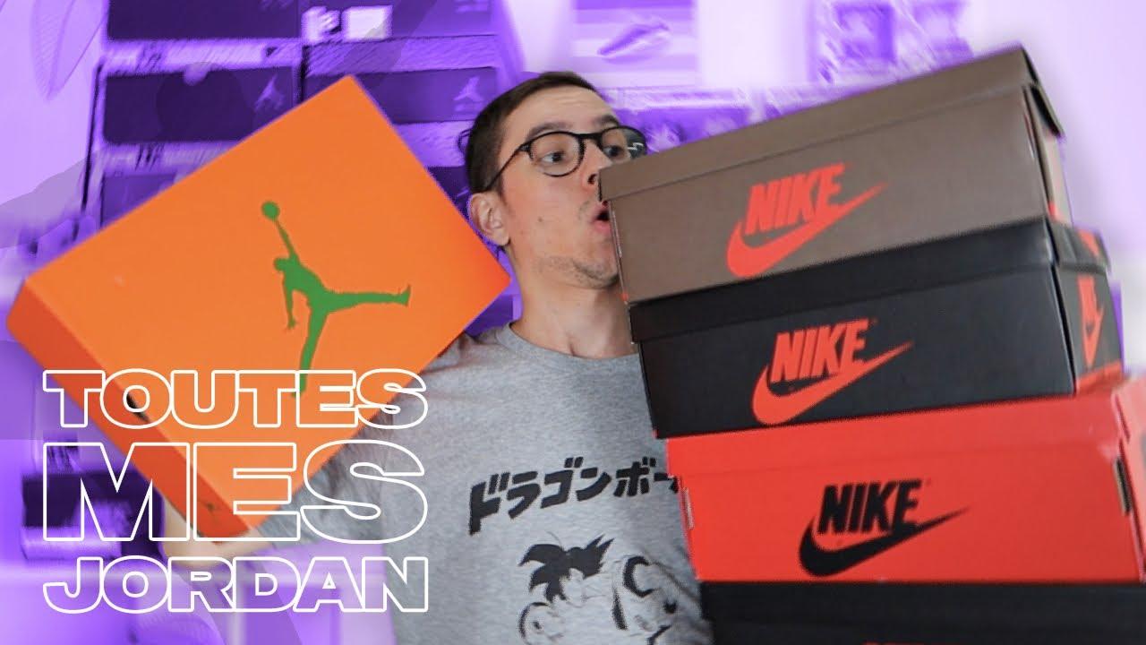 TOUTES MES PAIRES DE JORDAN ! (All My Jordan's)