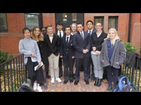the Newman School State House Model United Nations