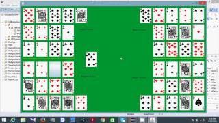 Call Bridge Card Game Software Demo 2016