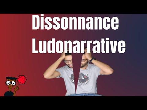 Dissonance ludonarrative en jeu de rôle