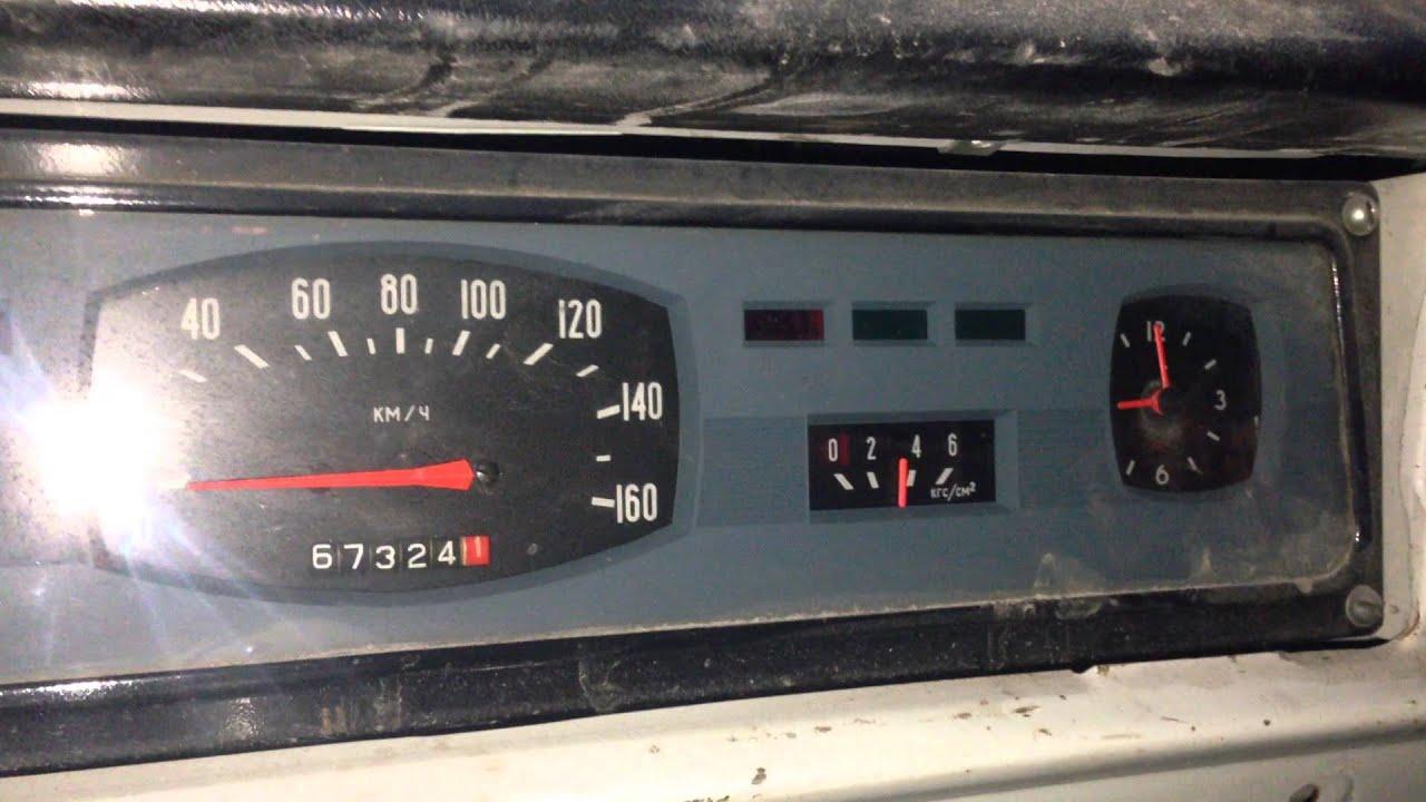 04.07.2015 давление масла ГАЗ24 V8 hot