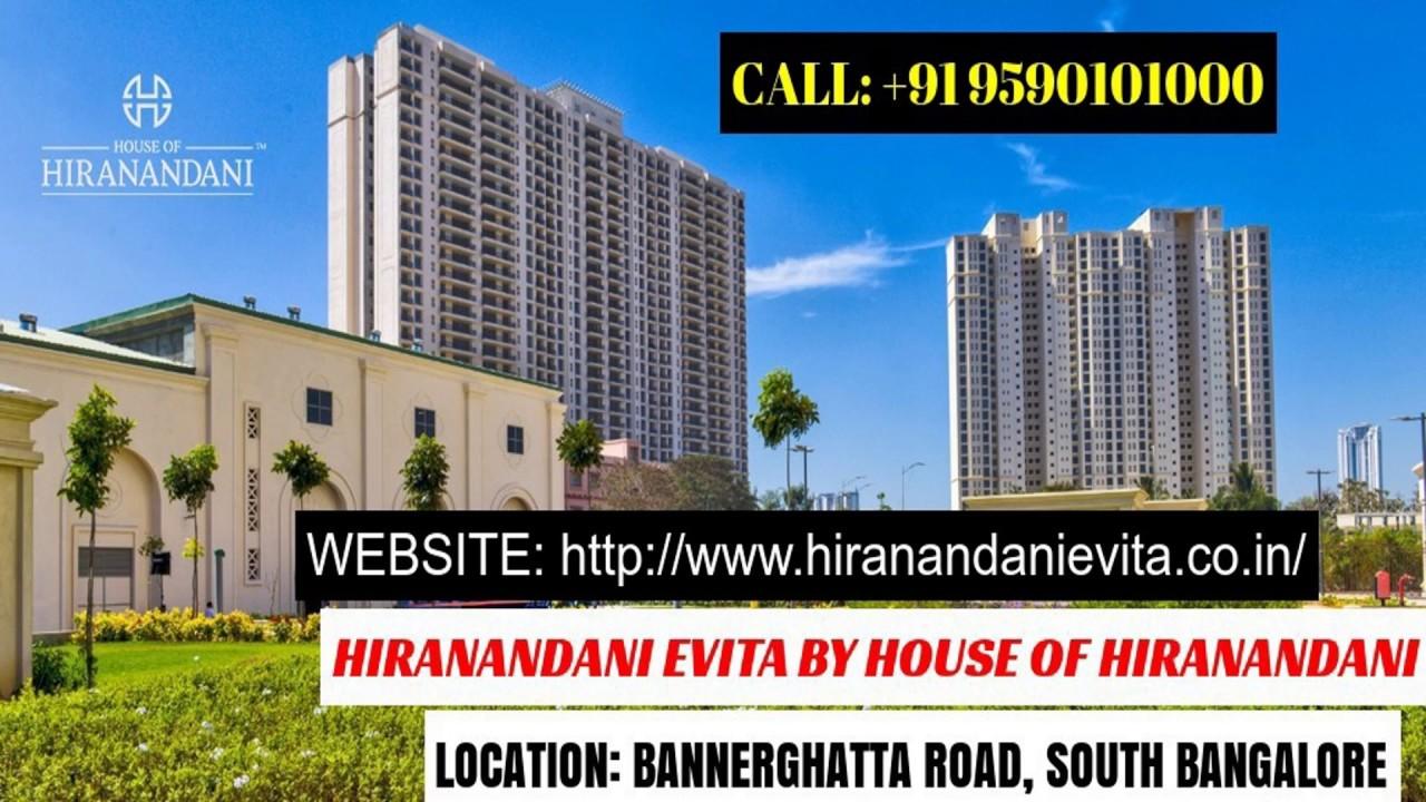 Hiranandani Evita Bannerghatta Road |www.hiranandanievita.co.in
