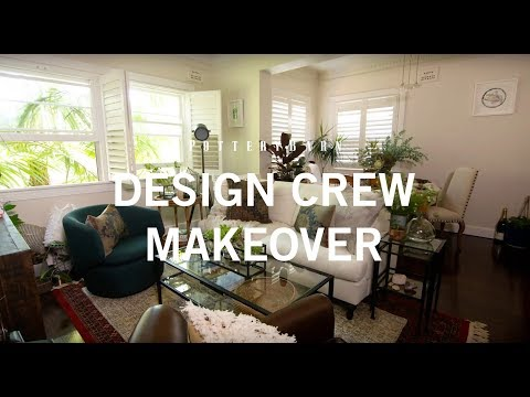 Pottery Barn Design Crew Makeover: Australian Bungalow
