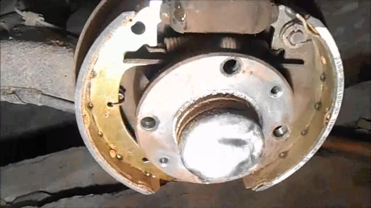 Замена Задних Колодок ВАЗ 2114 - 2115.
