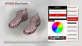 NBA 2K18 Shoe Creator - Nike Foamposite Pro Custom