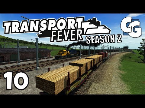 Transport Fever - S02E10 - New Goods Supply Chain - Transport Fever Let's Play