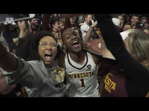 Gopher Blog - VIDEO: Fans Storm Court After Gophers Upset #11/9 Purdue on Senior Night