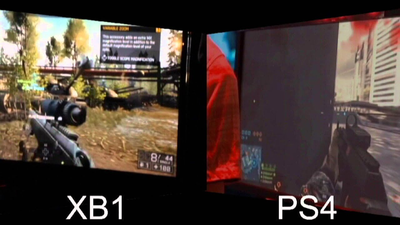 Ps4 Vs Xbox One Which Runs Bf4 Better YouTube