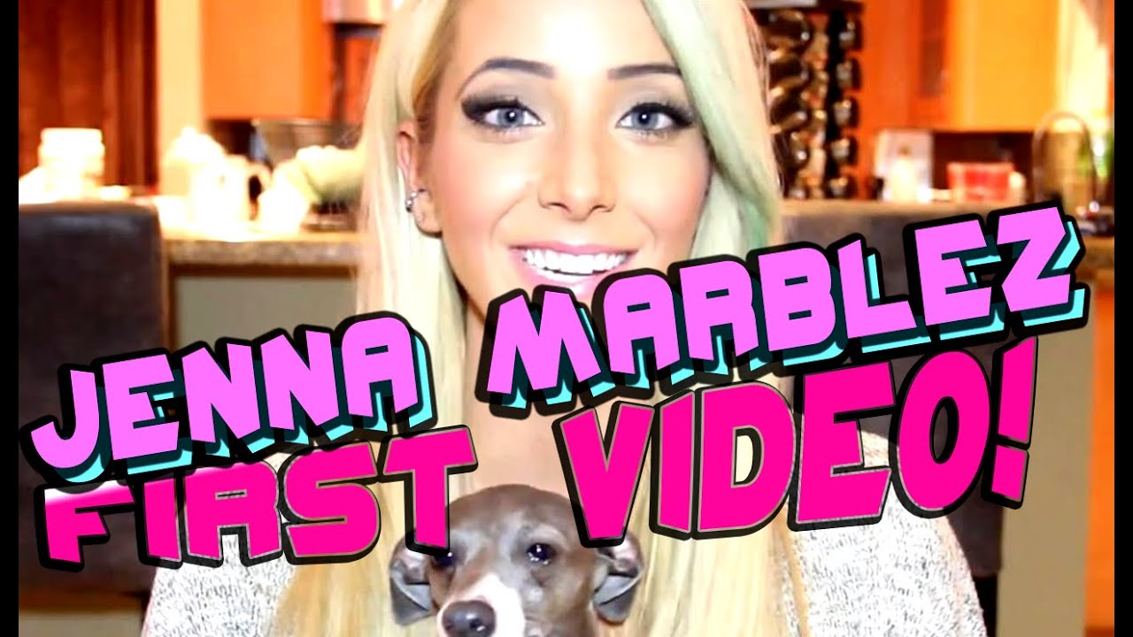 Jenna Marbles First Video!  Youtubers First Videos Ever  Youtubers First  Time