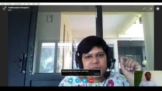 Real Skype interview - Online video call interview screenshot 5